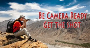 Travel with Your Camera Ready to Shoot