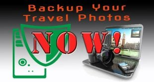 Backup Your Travel Photos NOW! and more…