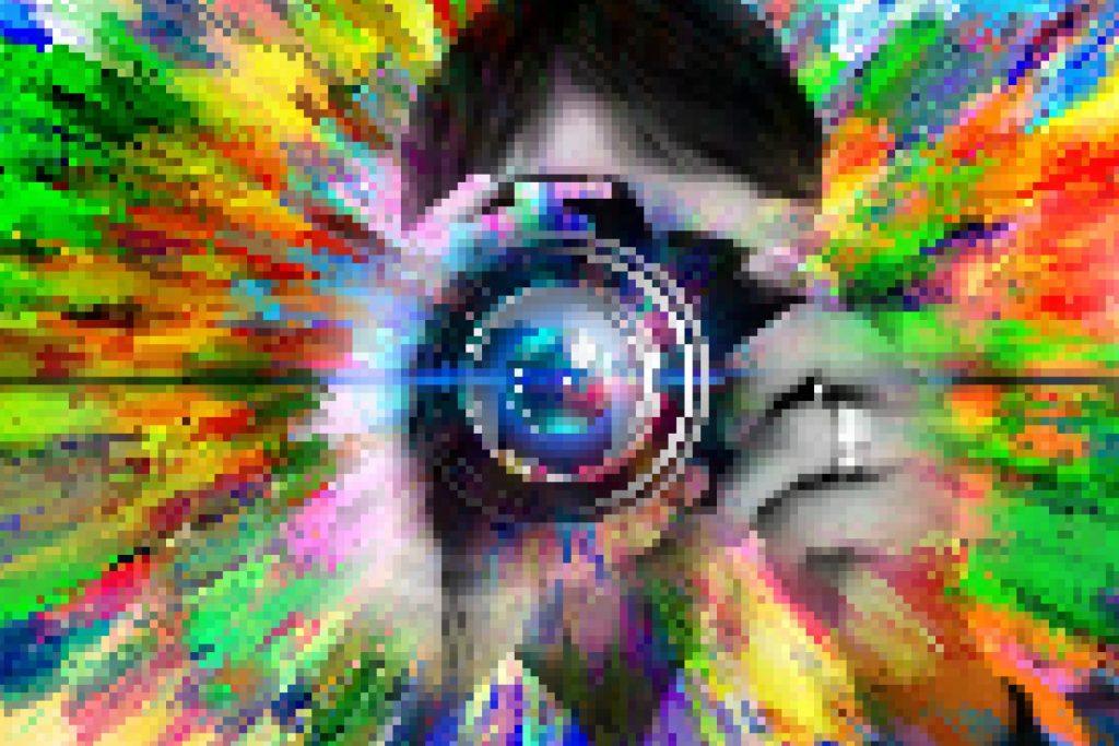 zooming pixels