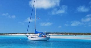 Blogging While Sailing the Caribbean